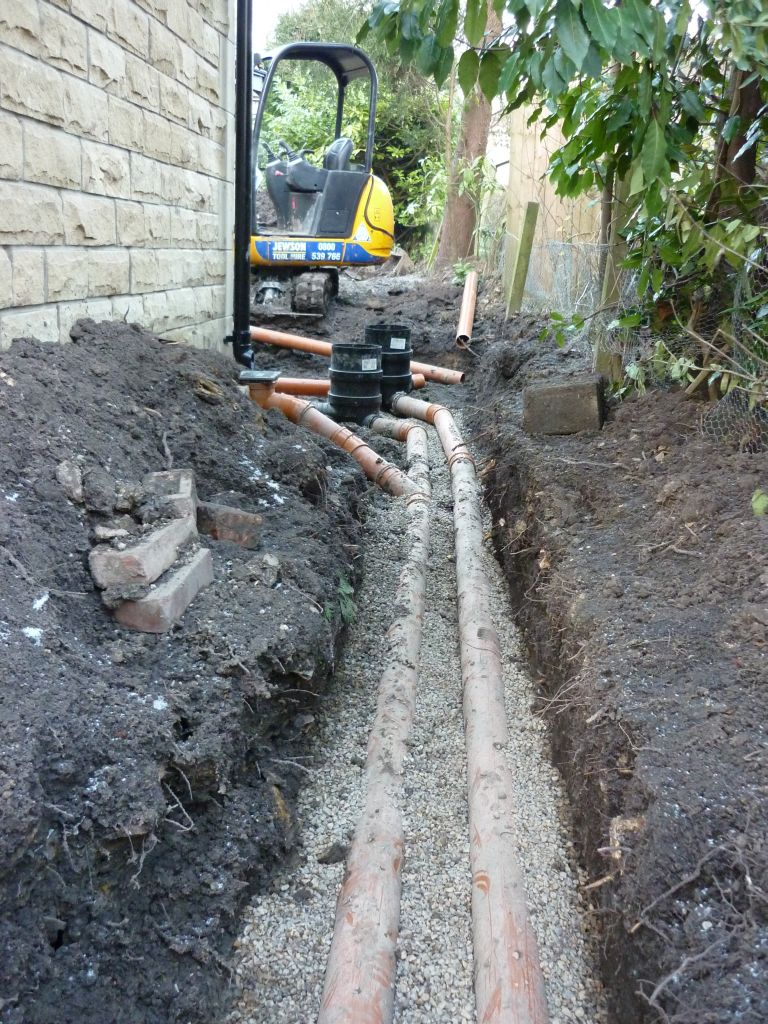 Groundworks And Drainage Contractors Kdn Property Services