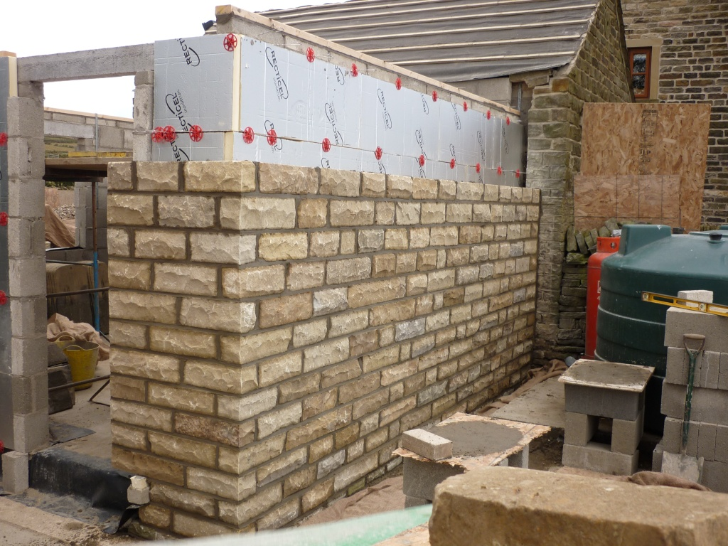 Stonework Going Up