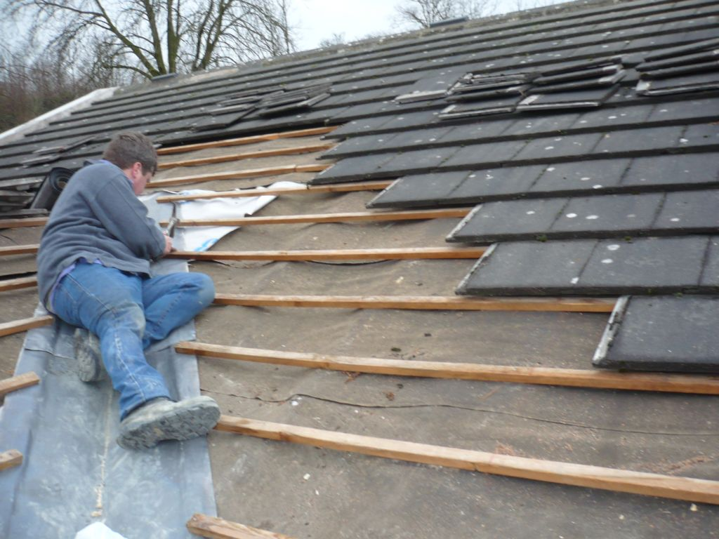 how to flat roof repair